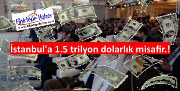 1,5 trilyon dolarlık fon yöneticileri 29-30 Nisan 2015'te İstanbul'da