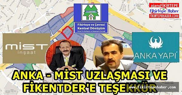 ANKA - MİST UZLAŞMASI VE FİKENTDER'E TEŞEKKÜR