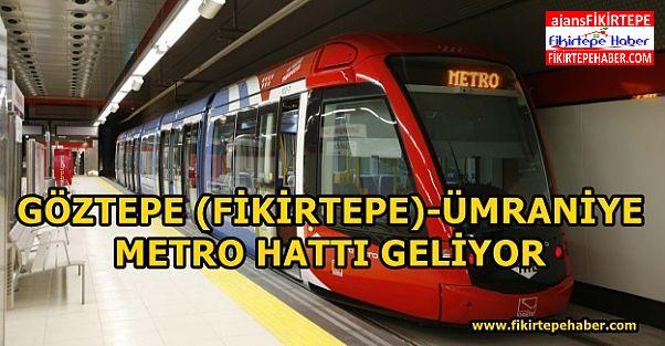 Göztepe (Fikirtepe) -Ataşehir-Ümraniye Metro Hattı Geliyor!