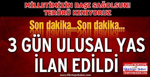 TERÖRÜ ŞİDDETLE KINIYORUZ ''MİLLETİMİZİN BAŞI SAĞOLSUN !'' :(