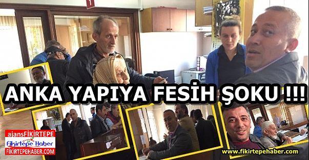 ANKA YAPIYA FESİH ŞOKU !!! '' VATANDAŞLAR FESİHE BAŞLADI''