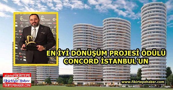 EN İYİ DÖNÜŞÜM PROJESİ ÖDÜLÜ CONCORD İSTANBUL'A VERİLDİ