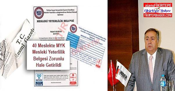 İNDER ve İNTES Türkiye Mesleki Yeterlilik ve Belgelendirmesi İçin İşbirliği Yapıyor
