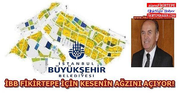 İstanbul Büyükşehir Belediye Bütçesinde Fikirtepe için 9 Milyon TL