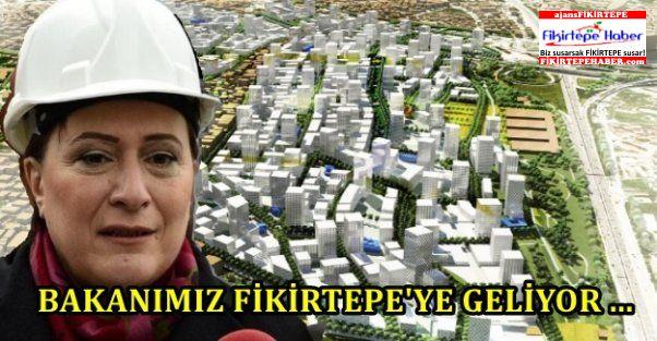 Bakanımız Fatma Güldemet Sarı çok yakında Fikirtepe'de