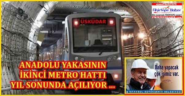 Üsküdar-Çekmeköy metrosu yıl sonunda açılacak!
