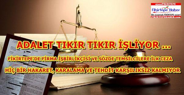Fikirtepe'de imza atmayan vatandaşa temsilci baskısına mahkemeden ilk ceza