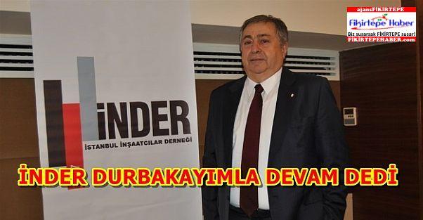 Nazmi Durbakayım 3. Kez İNDER Başkanı