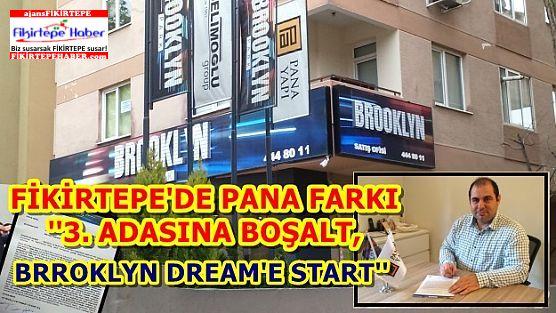 Pana'dan 3. adasına boşalt, Brooklyn Dream'e start