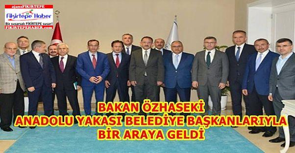Özhaseki İstanbul Anadolu Yakası Başkanlarıyla Buluştu
