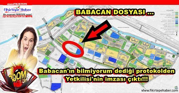 Babacan'ın bilmiyorum dediği protokolden Yetkilisi'nin imzası çıktı!!!