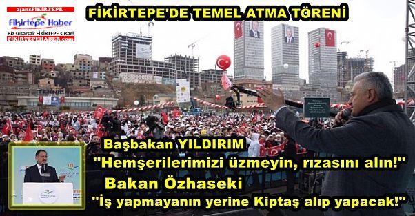 Başbakan Yıldırım ve Bakan Özhaseki'den müteahitlere uyarı!