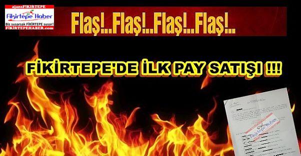 Fikirtepe'de İlk Pay Satışı !!!