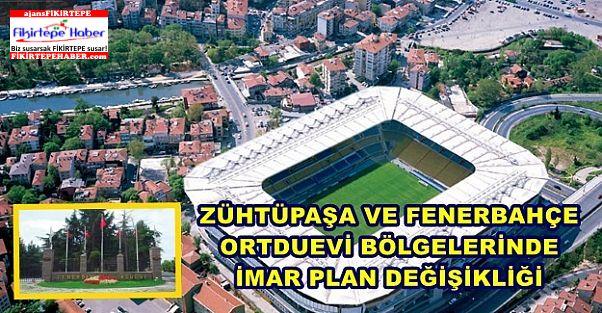 Kadıköy Zühtüpaşa ve Fenerbahçe Orduevi bölgesine yeni imar planı