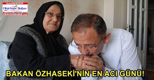 Bakan Özhaseki'nin En Acı Günü!