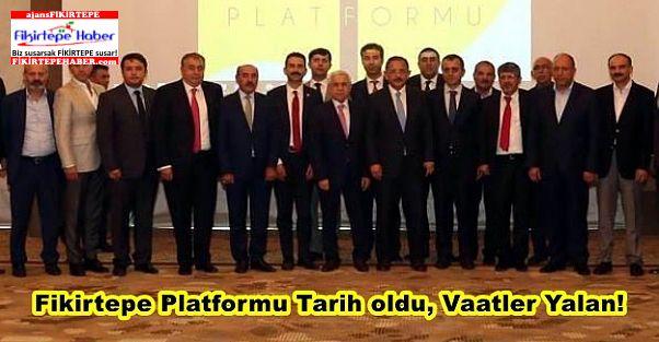 Fikirtepe Platformu Tarih oldu, Vaatler Yalan!