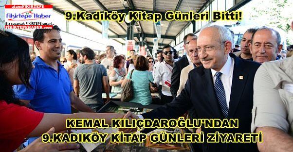 Kemal Kılıçdaroğlu'ndan 9.Kadıköy Kitap Günleri'ne Son Gün Ziyareti