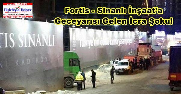 Fortis - Sinanlı Fikirtepe Şantiyesinde Geceyarısı İcra Şoku!