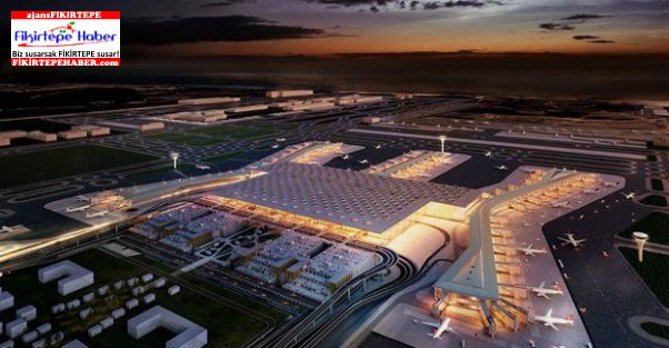 3. Havalimanı açılış için Cumhurbaşkanı Erdoğan'ın uçağını bekliyor!