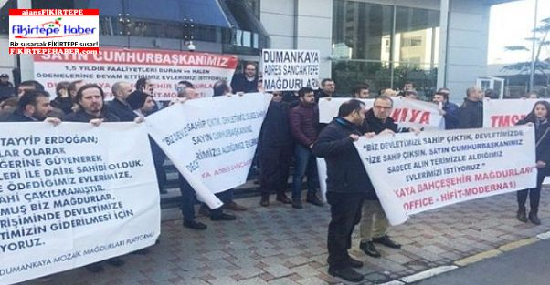 Dumankaya Mağdurları ikinci defa TMSF önünde toplanacak