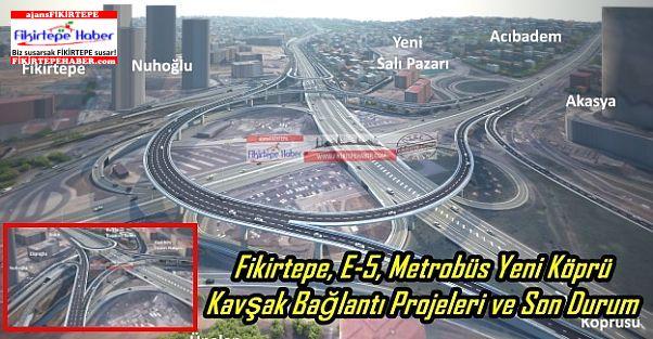 Fikirtepe, E-5, Metrobüs Yeni Köprü Kavşak Bağlantı Projeleri ve Son Durum