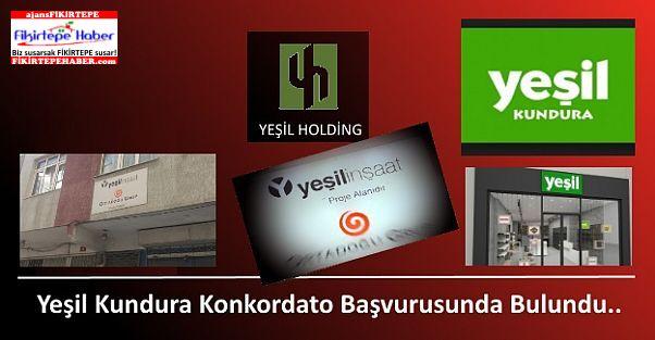 Yeşil Holding İştiraki Yeşil Kundura'dan Konkordato Başvurusu ...