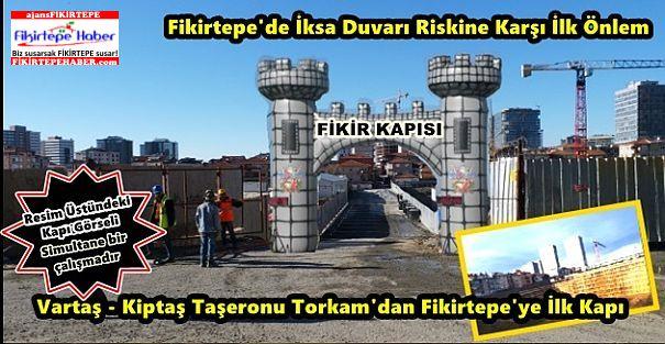 İlbank-Kiptaş Taşeronu Torkam'dan İksaya tedbir için sokağa KAPI girişimi
