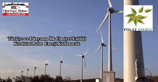 Türkiye ve Dünyanın İlk Cinsiyet Eşitliği Kredisini Polat Enerji Kullanacak