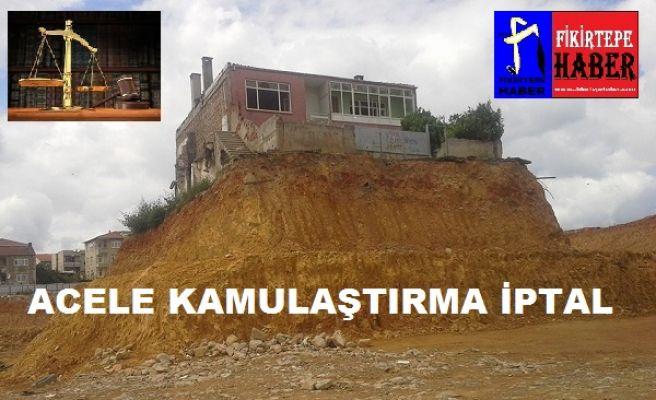 ACELE KAMULAŞTIRMA İPTAL