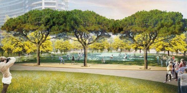 Akasya Konutları Acıbadem'de 10.000 Metrekarelik Park