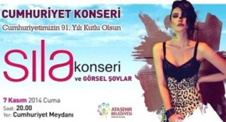 ATAŞEHİR'DE SILA KONSERİ ŞÖLENİ