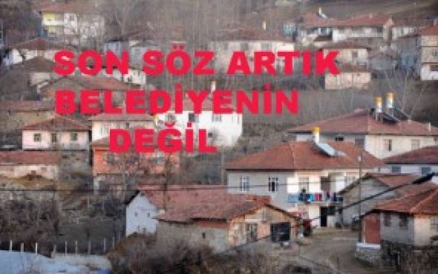 BELEDİYELERE TIRPAN, İMAR YETKİSİ ARTIK KOMPLE BAKANLIKTA ...