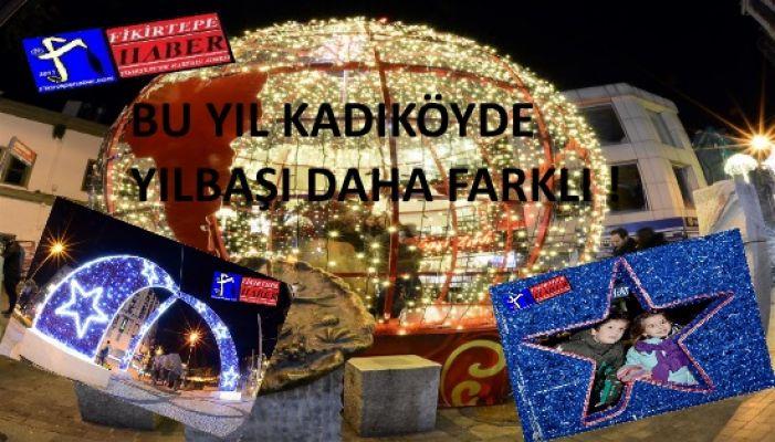 Bu yılbaşı Kadıköy daha farklı ..!