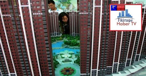 Çin' de Emlak Sektörü İflas Sinyalleri Veriyor..