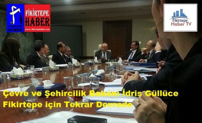 Ç.Ş.Bakanı İdris Güllüce'nin Fikirtepe Toplantısı ve Sonuçlar!