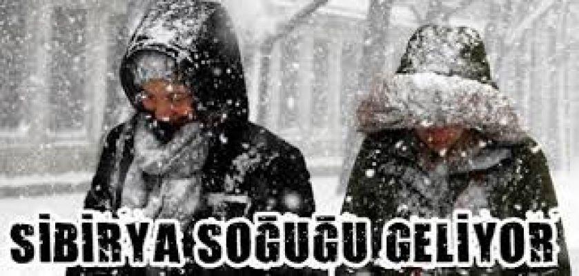 DİKKAT ! İstanbul'a salı günü kar geliyor (İl il 5 Günlük Hava Tahmini)