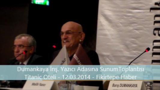 Dumankaya İnşaatın yetkilisi vatandaşı neden azarladı ve Halit Dumankaya' nın Konuşması (VİDEO)