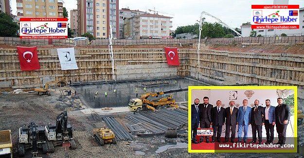 Erkan İnşaat Pırlanta Göztepe temel atma töreni