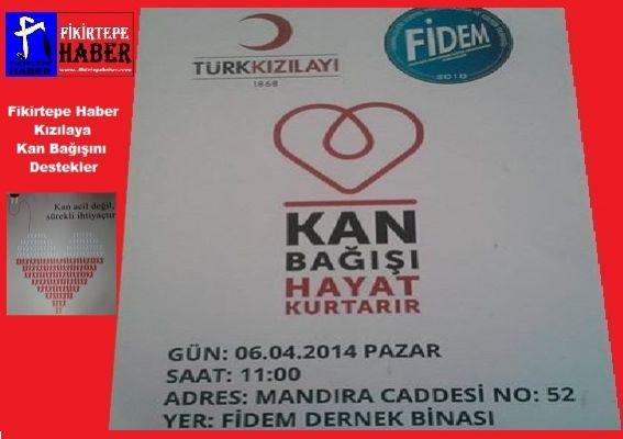 Fidemde Kızılaya Kan Bağışı Kampanyası