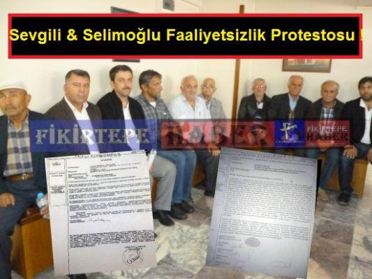 FİKİRTEPE NOTERE TAŞINIYOR, FİKİRTEPE'DE İLK AZINLIK PROTESTOSU SELİMOĞLUNA!
