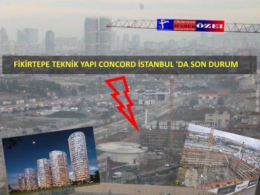 Fikirtepe Teknik Yapı Concord İstanbul'da Son Durum ...