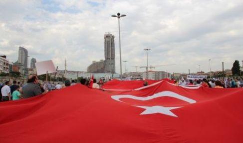 Fikirtepede Cumartesi iki temel, bir yıkım töreni, tüm Fikirtepeliler bayraklarıyla davetlidir