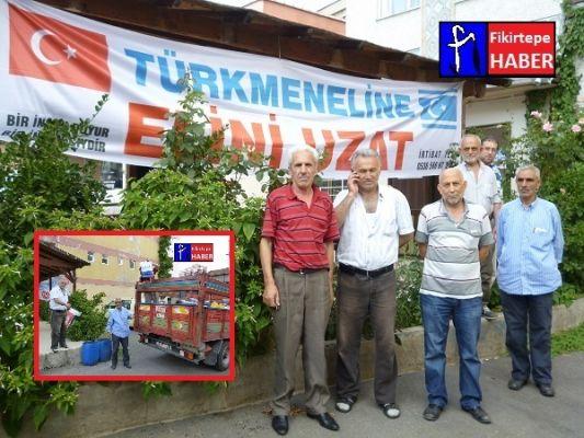 FİKİRTEPE'DEN TÜRKMENELİNE YARDIM YOLA ÇIKTI