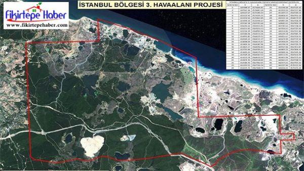 Hava alanı ve kanal projelerinin arsa fiyatlarını uçurduğu yer neresi !?