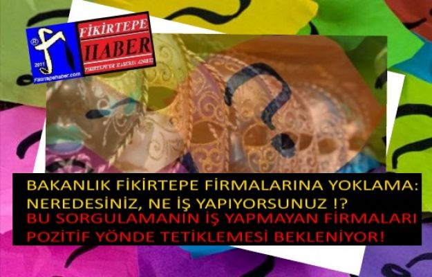 HEP VATANDAŞA DİYEN BAKANLIK SONUNDA FİRMALARI DA SORGULAMAYI HATIRLADI ..!