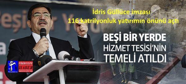 İdris Güllüce imzası 116 katrilyonluk yatırımın önünü açtı