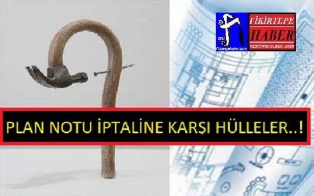 İMAR PLANI İPTALİNE KARŞI ALTERNATİF HÜLLELER ..!