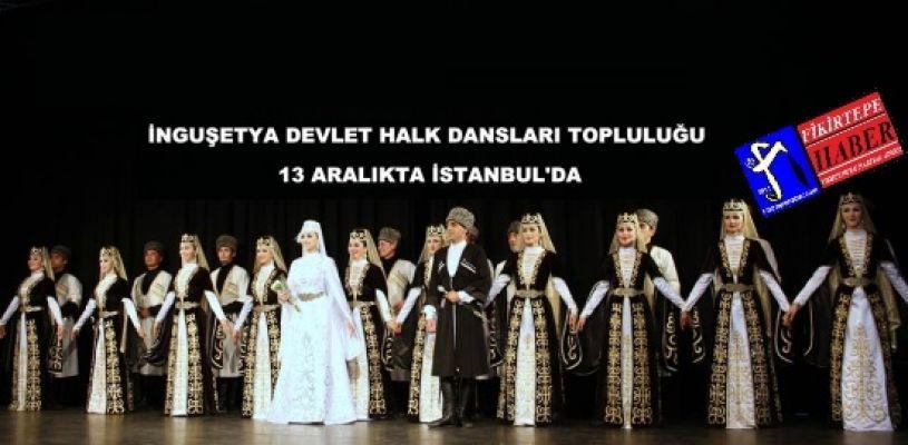 İnguşetya Devlet Halk Dansları Topluluğu Gösterisi