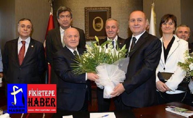 Kadıköy Belediyesinde Devir Teslim