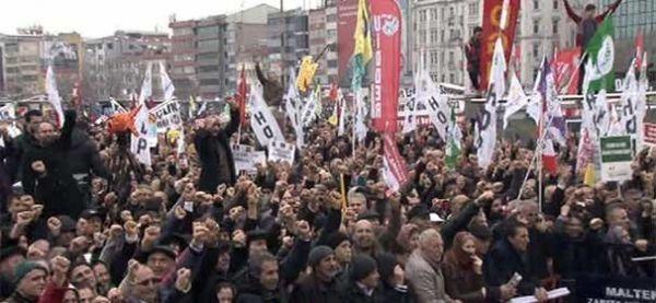 Kadıköy'de Alevi Birlik ve Dayanışma Mitingi yapıldı